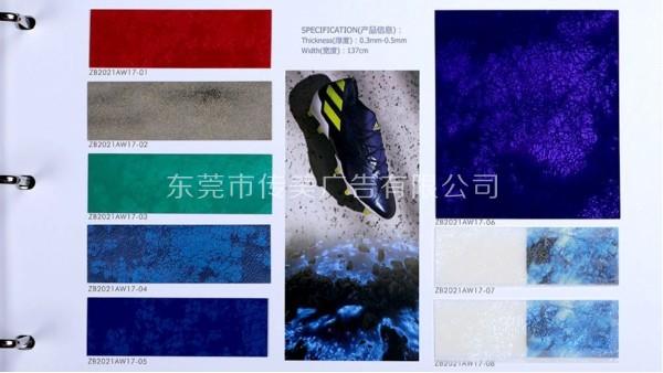 领略新运动时尚热潮样板册&传美广告制作
