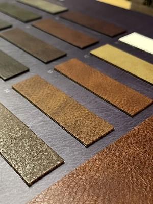 皮革样板册能提升产品销量